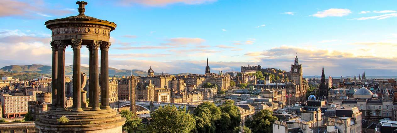 Cheap flights to Edinburgh