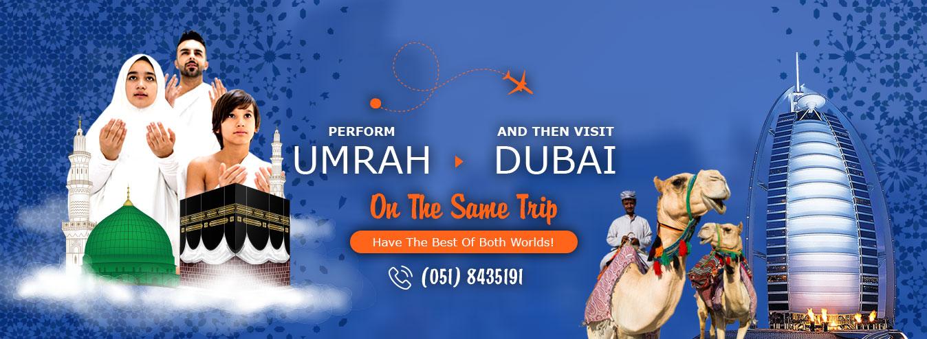 Umrah Plus Dubai Tour Package