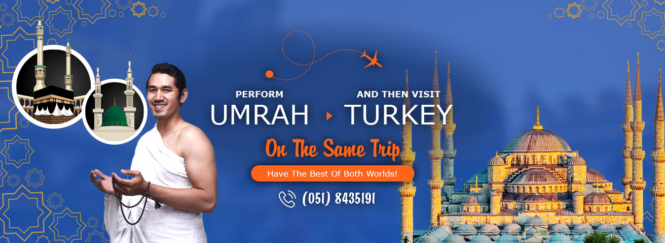 Umrah with Turkey holiday Packages 2019