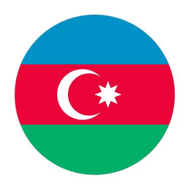 Azerbaijan Visa Flag