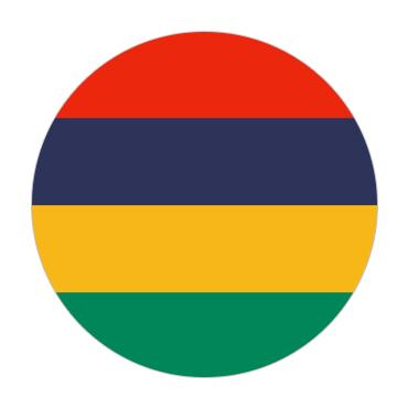 Mauritius Visa Flag
