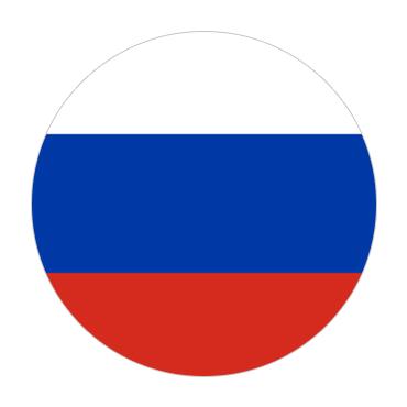 Russia Visa Flag